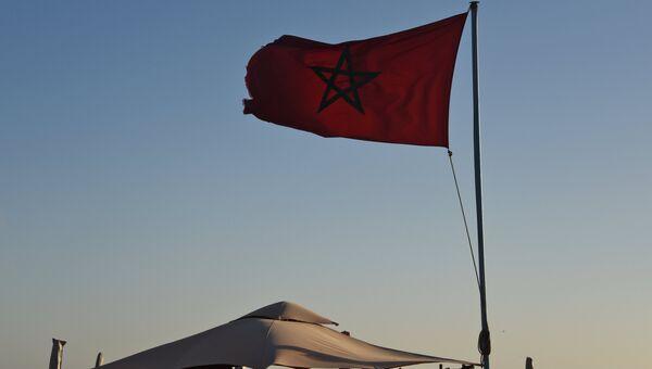 Флаг Марокко. Архивное фото