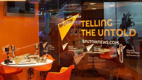 Агентство и радио Sputnik. Архивное фото