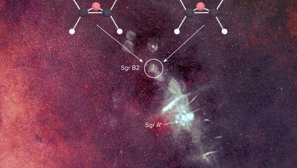 Молекулы оксида пропилена в центре Галактики