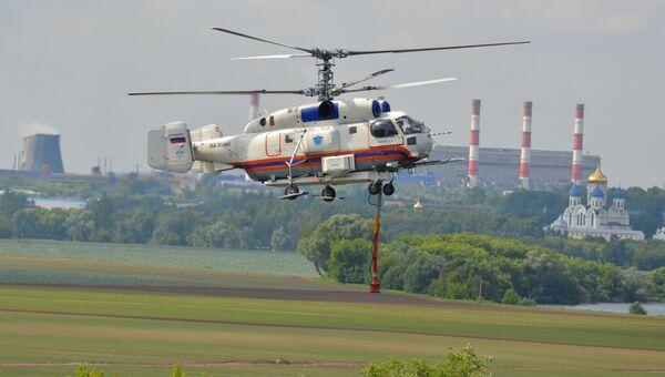 Спасательные вертолеты московского авиационного центра