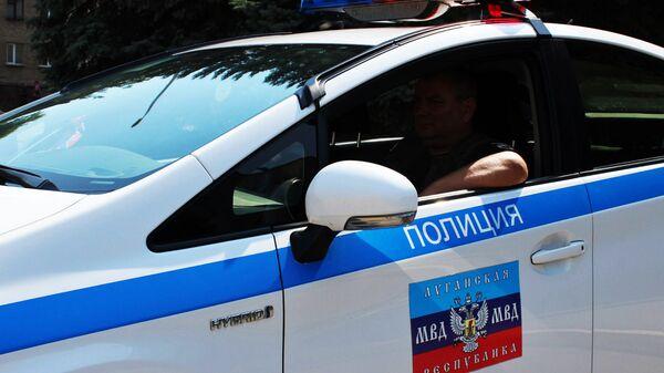 Сотрудник правоохранительных органов ЛНР