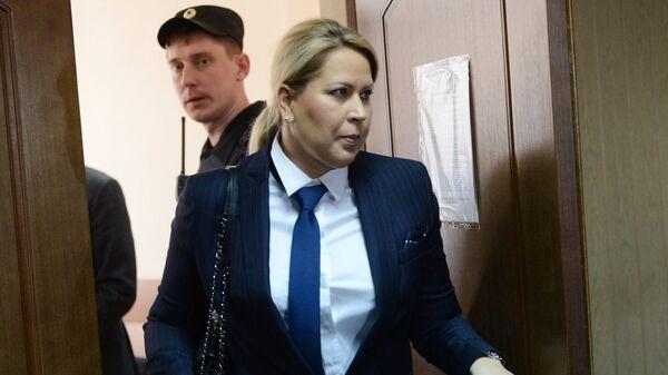 Бывшая глава департамента имущественных отношений министерства обороны России Евгения Васильева. Архивное фото