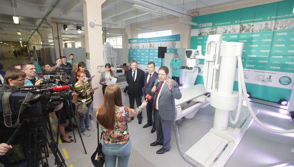 В Петербурге запустили производство рентгенодиагностических комплексов