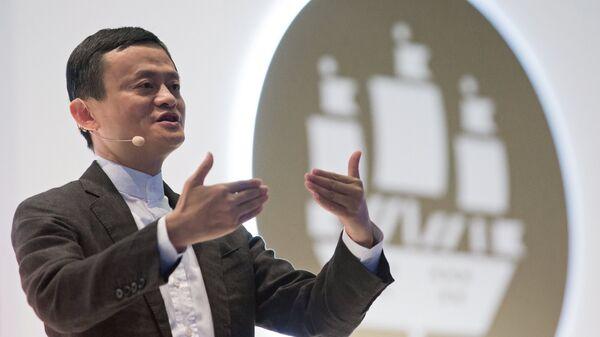 Китайский миллиардер Джек Ма