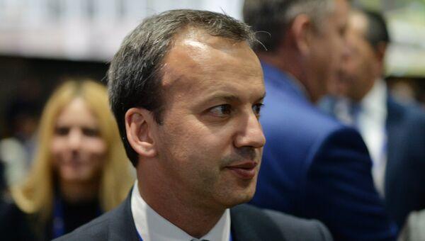 Заместитель председателя правительства РФ Аркадий Дворкович. ПМЭФ