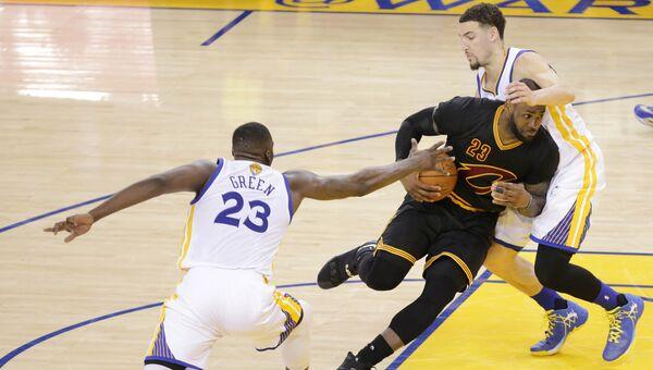 Баскетбольный матч НБА Кливленд - Голден Стэйт