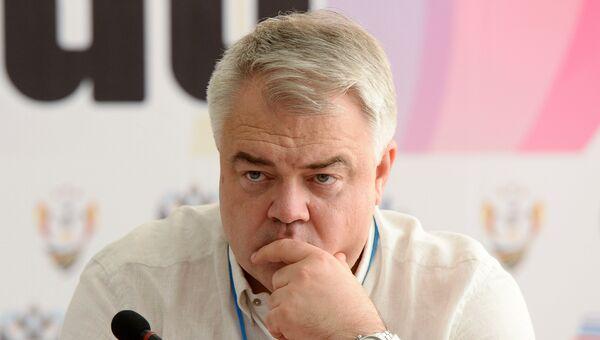 Генеральный секретарь Всероссийской федерации по легкой атлетике Михаил Бутов. Архивное фото