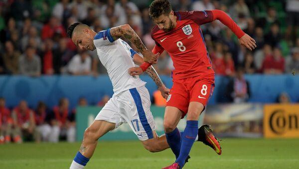 Футбол. Чемпионат Европы - 2016. Матч Словакия - Англия