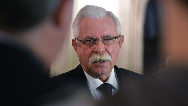 Российский государственный и политический деятель Александр Руцкой