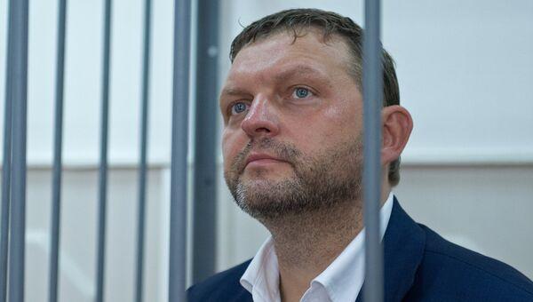 Губернатор Кировской области Никита Белых в суде. Архивное фото