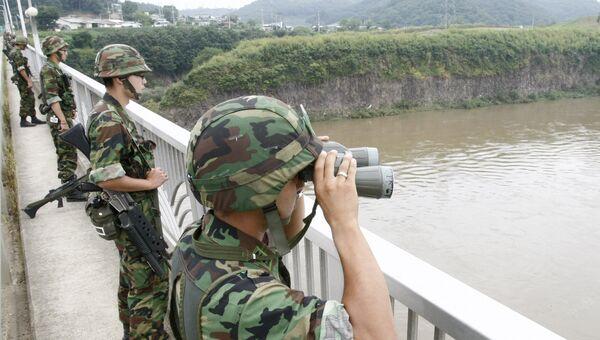 Военнослужащие Южной Кореи. Архивное фото