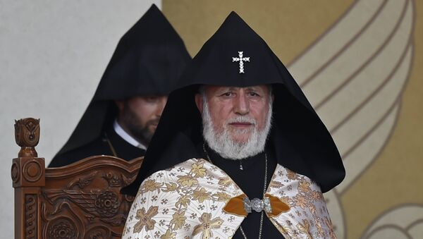 Католикос всех армян Гарегин Второй. Архивное фото