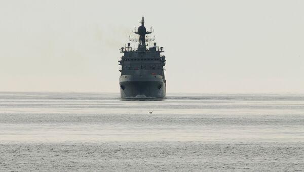 Большой десантный корабль Иван Грен, архивное фото