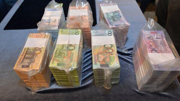 Презентация новых денежных купюр Белоруссии в Минске