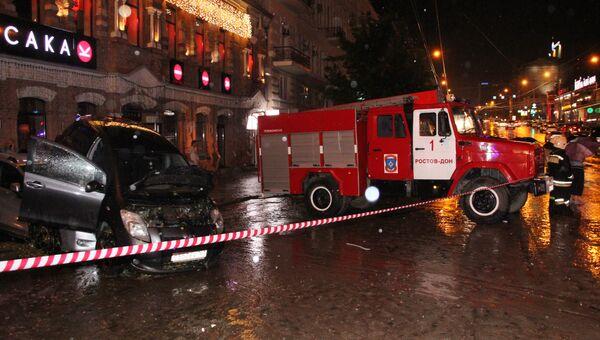 Последствия сильного ливня в Ростове-на-Дону. Архивное фото