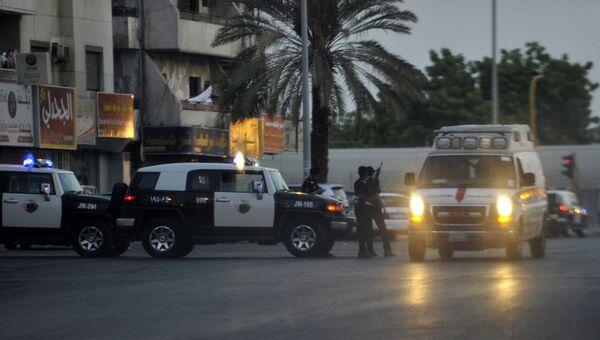 Сотрудники служб безопасности в Саудовскай Аравии. Архивное фото