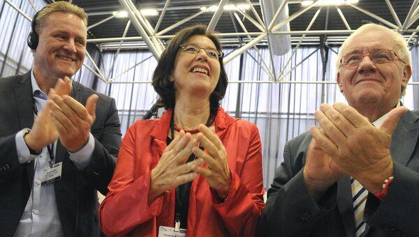 Председатель Парламентской ассамблеи ОБСЕ Кристин Муттонен, назначенная на этот пост на ежегодной сессии в Тбилиси. 5 июля 2016