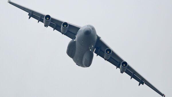 Китайский военно-транспортный самолет Y-20