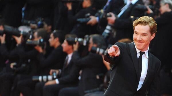 Британский актер Бенедикт Камбербэтч. Архивное фото