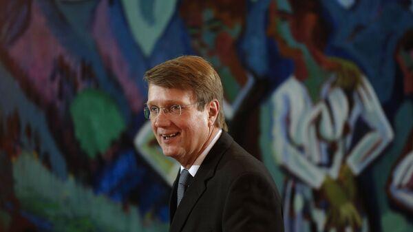 Председатель правления форума Петербургский диалог с немецкой стороны Рональд Пофалла