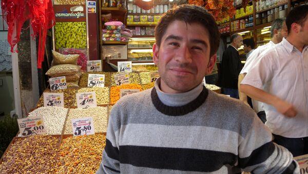На базаре в Стамбуле