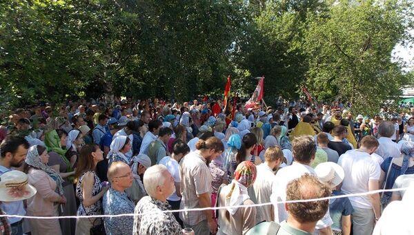 Сторонники строительства православного храма в парке Торфянка