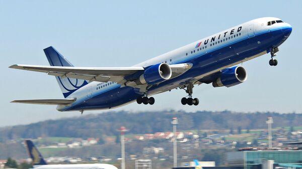 Самолет Boeing авиакомпании United Airlines