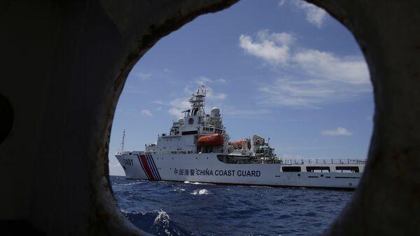 Корабль береговой охраны Китая. Архивное фото