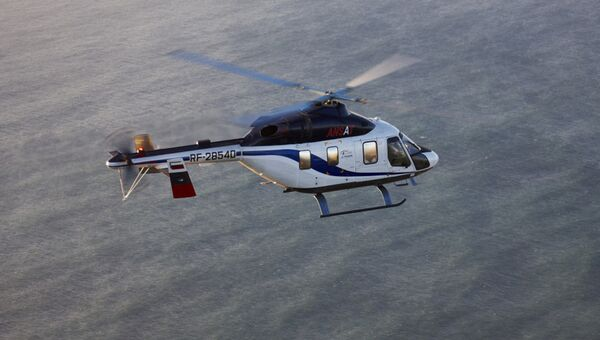 Многофункциональный вертолет Ансат. Архивное фото