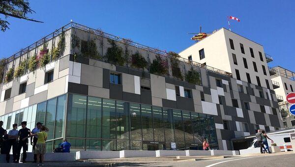 Госпиталь, в котором лежат раненные при теракте в Ницце. Архивное фото