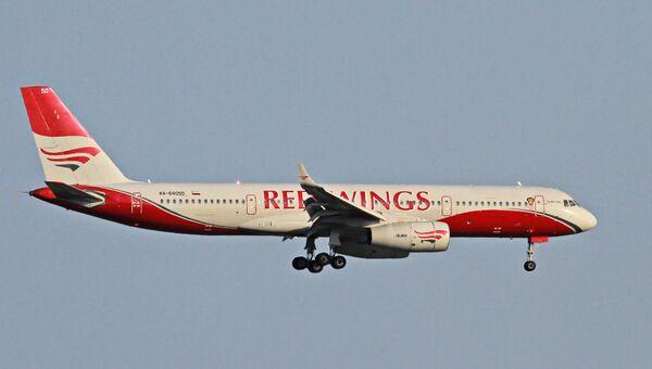 Самолет Ту-204 авиакомпании Red Wings. Архивное фото