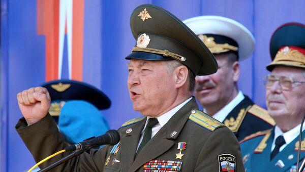 Герой России полковник Александр Маргелов. Архивное фото