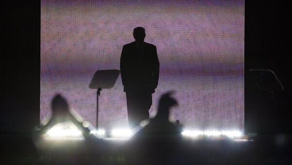 Кандидат в президенты США Дональд Трамп на общенациональном съезде Республиканской партии в Кливленде. Архивное фото