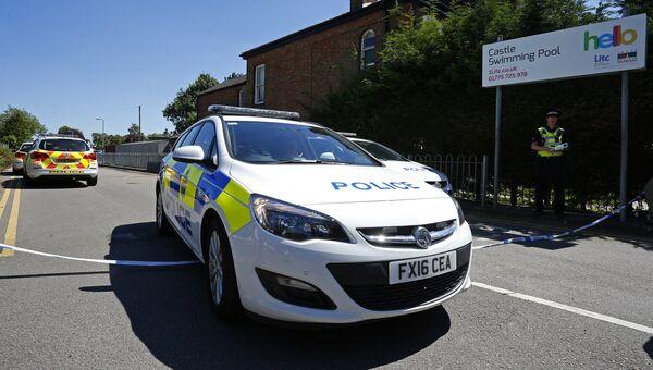 Полицейские автомобили в Англии. Архивное фото