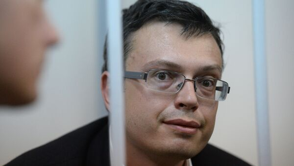 Первый заместитель руководителя ГСУ СК РФ по Москве Денис Никандров в Лефортовском суде Москвы. Архивное фото