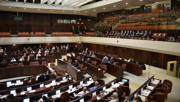 На пленарном заседании Кнессета Израиля. Архивное фото
