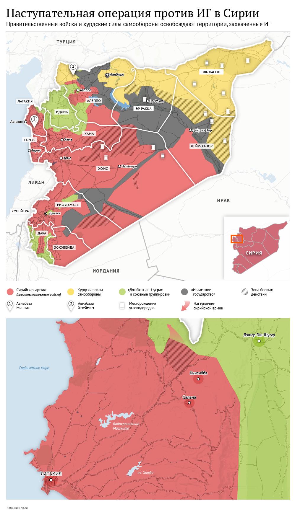 Наступательная операция против ИГ в Сирии