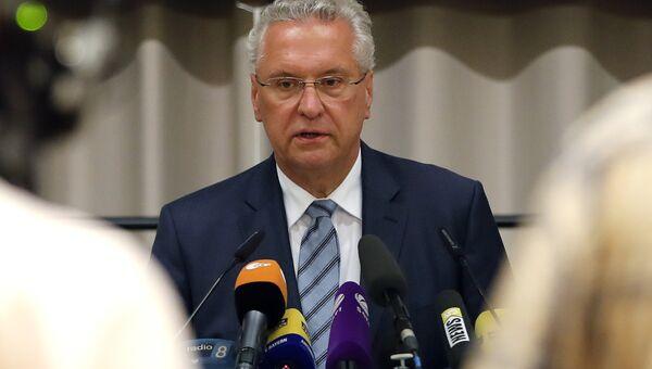 Глава МВД федеральной земли Бавария Иоханн Херрманн. 24 июля 2016 год