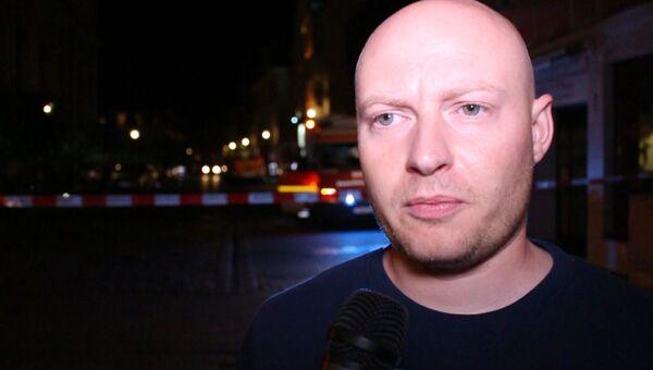 Очевидец взрыва в Ансбахе рассказал о первых минутах после ЧП