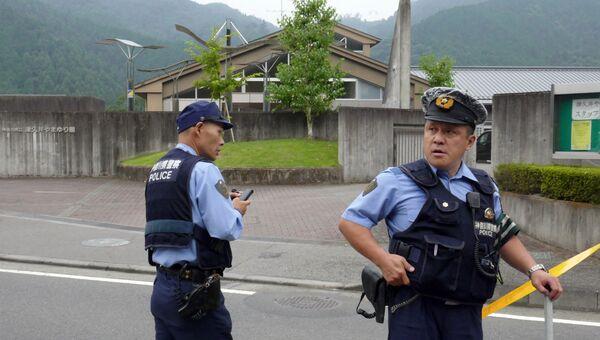 Полиция Японии. Архивное фото