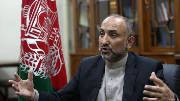 Советник президента Афганистана по безопасности Мохаммад Ханиф Атмар. Архив