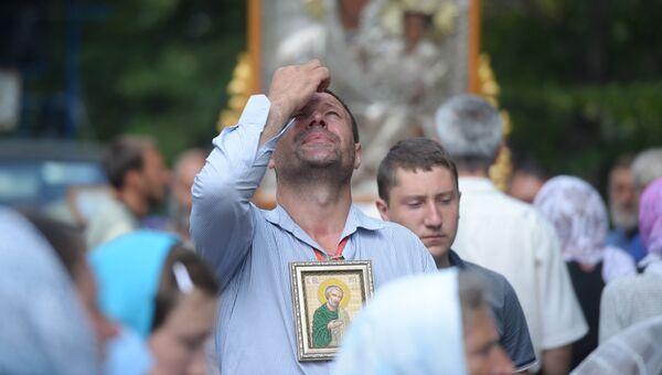 Всеукраинский крестный ход мира, любви и молитвы за Украину . Архивное фото