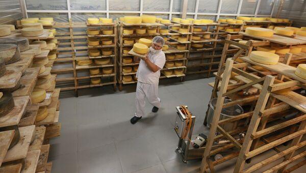 Истринская сыроварня Русский пармезан. Архивное фото