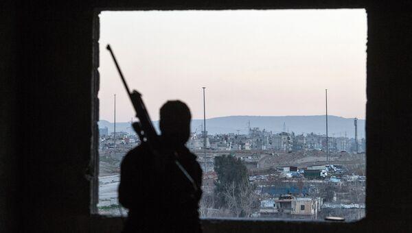 Джобар - район Дамаска, контролируемый боевиками группировки Джебхат ан-Нусра