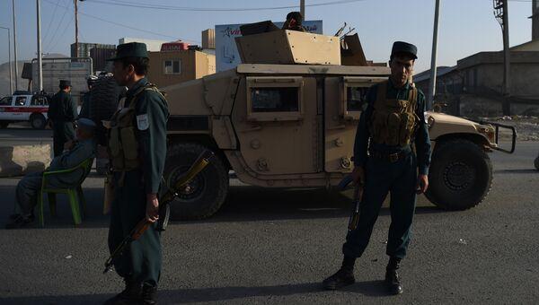 Полиция в Кабуле. Архивное фото