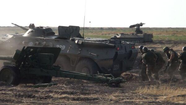 Чистое небо на АРМИ-2016: атака вертолетов и огонь зенитных установок