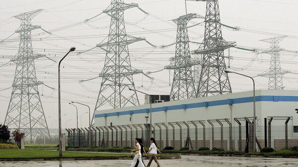 АЭС Циньшань в Китае. 2005 год