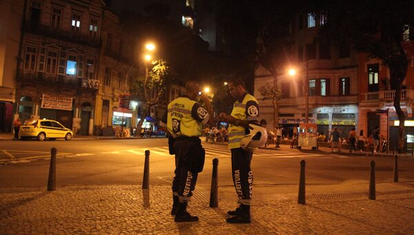 Бразильские полицейские. Архивное фото