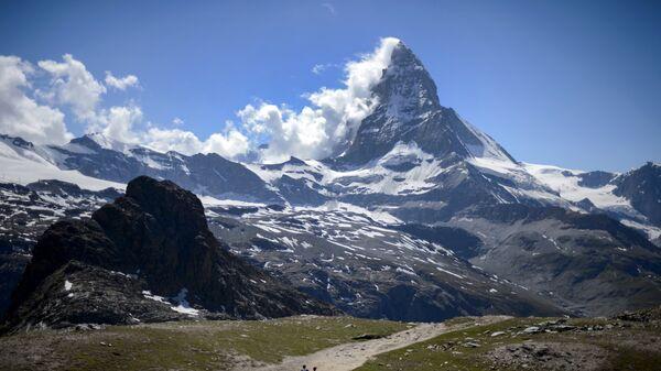 Гора Маттерхорн в Пеннинских Альпах