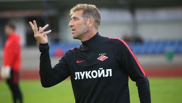 Тренер Спартака Массимо Каррера. Архивное фото